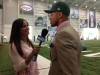 Interviewing Jets first round draft pick Dee Milliner