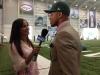 Interviewing Jets first round draft pick Dee Milliner